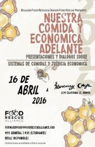 BFR Forward Food Summit Poster Spanish