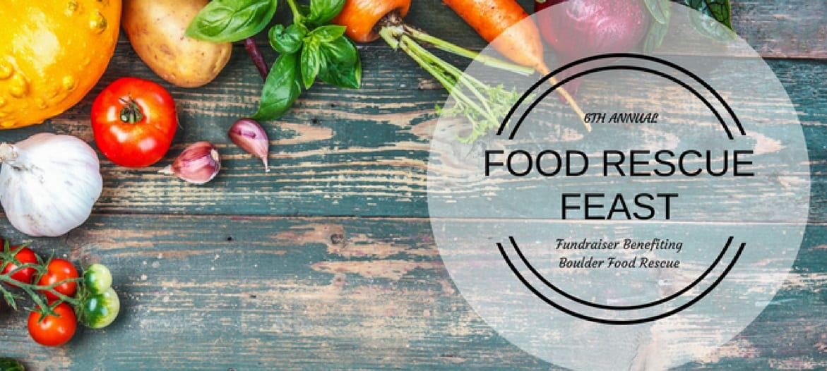 6TH ANNUAL  FOOD RESCUE FEAST